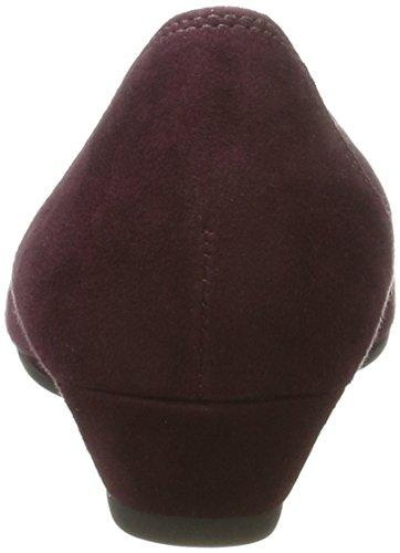 Gabor Ladies Comfort Sport Chiuso Ballerinas Rosso (nuovo Merlot)
