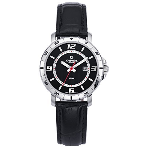 Casima Black Wenger Double Number Dial Womens Watches#5102-SL7