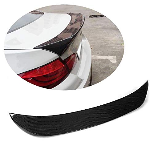 MCARCAR KIT For BMW 5 Series F10 520i 528i 530i 535i M Sport M5 2011-2017 Customized CNC Moulding Carbon Fiber Top-fit Rear Trunk Spoiler Wing Lip (HAMANN Look)