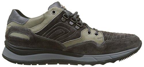 Velour 4 Grigio Charcoal Oil Stonefly Uomo Warren Sneaker zq5xRnwEY