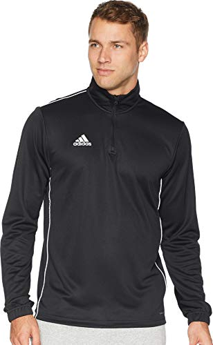 adidas Men's Core18 Training Top, Black/White, Small
