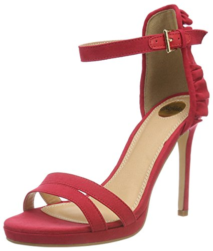 Bride Bhwmd Cheville Red B609 316383 Buffalo Imi Sandales Rouge Sue Femme Yx7wU1T
