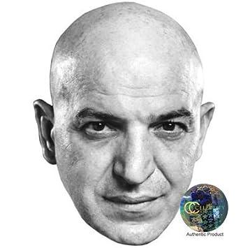 Telly Savalas Máscaras de personajes famosos, caras de carton