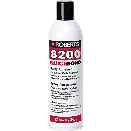 Roberts 8200-12 Quick Bond Spray Adhesive (Best Spray Adhesive For Vinyl)