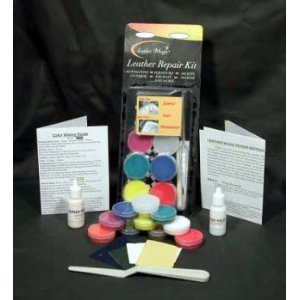 Leather Magic Leather Repair Kit (Vinyl Scratch Repair Kit compare prices)