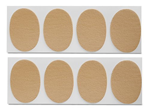 Oval Moleskin Value Pack (8 Moleskins) - Peel'n Stick Oval Shaped Moleskins