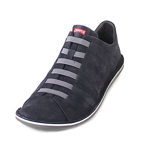 Camper Mens Bettle 18751 Nubuck Shoes Navy White