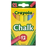Chalk, Two Each of Six Assorted Colors 12 Sticks/Box (279 Boxes)