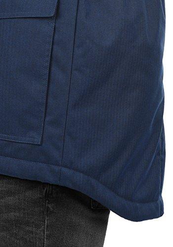para 1991 Blue Chaqueta Insignia Hombre Bello Long Solid qxtwOR8