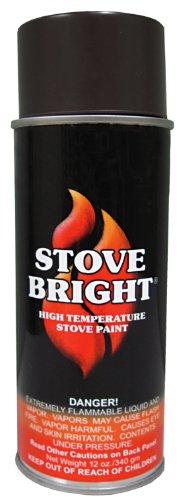 Forrest Paint 6230 P 1200 Wood Stove High Temp Paint - Golde