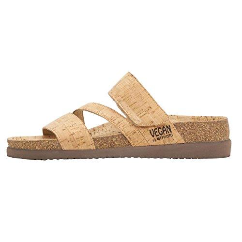 Mephisto Sand Textile Bambou Womens Sandals rqUwR7rI