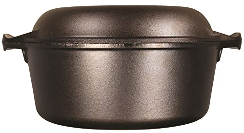 Lodge L8DD3 Cast Iron Dutch Oven 5 qt by Lodge (Image #2)