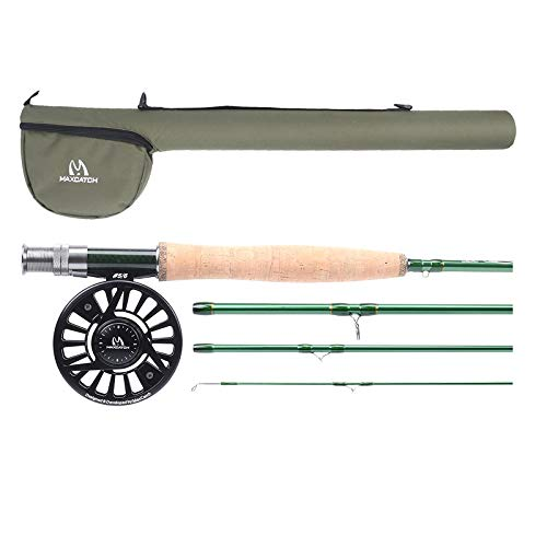 Maxcatch Premier Fly Fishing Rod with Avid Fly...