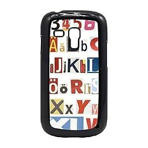 Case Fun Case Fun Alphabet Snap-on Hard Back Case Cover for Samsung GalaxyS3 Mini (I8190)