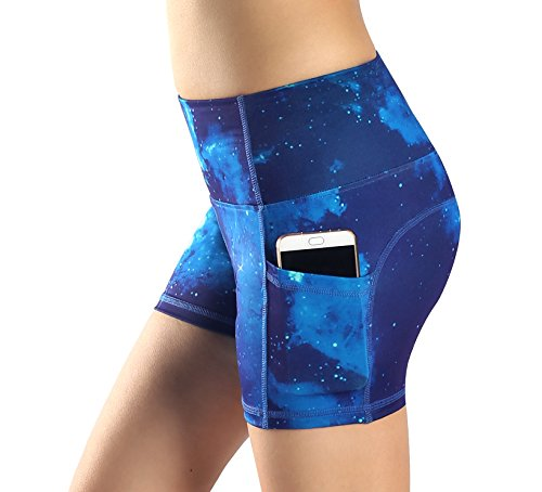 Champion Womens Sport Short - Munvot Women Running Workout Tights Yoga Shorts Pockets XL