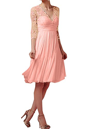 Topkleider - Vestido - Trapecio - para Mujer Perlenrosa