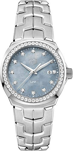 TAG Heuer Link Diamond 32mm Luxury Women's Watch WBC1319.BA0600