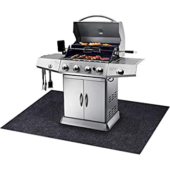 Amazon Com Gas Grill Mat Bbq Grilling Gear For Gas