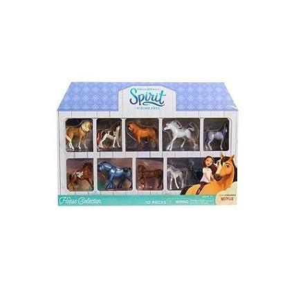 Spirit Riding Free 10 Piece Horse Collection by Spirithorse