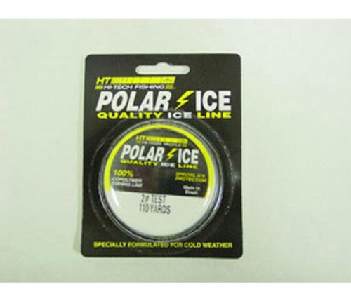 HT IL-1020 Polar No. 20 Ice Braided Line, 100-Yard