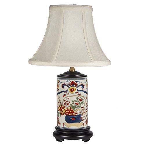Small Imari Porcelain Table Lamp -