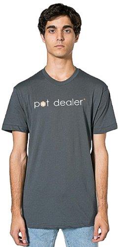 Bloem PDSHIRT-M-XL-GREY Men's Pot Dealer T-shirt, X-Large, Grey
