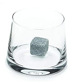 Bcurb Whisky Stones Sipping And Chilling Rocks Ice Cubes Wine Scotch Beer Whiskey Cold Soapstone with Carrying Pouch.
