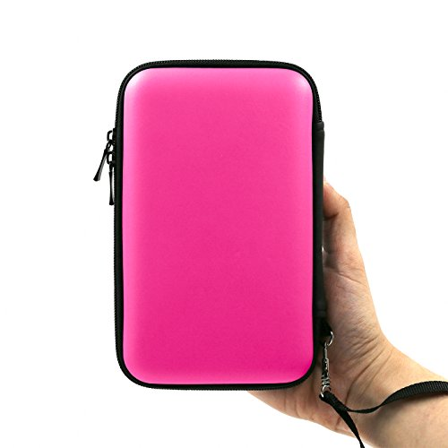 Price comparison product image ADVcer 3DS Case,  EVA Waterproof Hard Shield Protective Carrying Case with Detachable Hand Wrist Strap for Nintendo New 3DS XL,  New 3DS,  3DS,  3DS XL