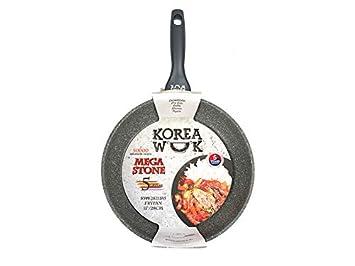 28 cm KWF2821MS para Todo Tipo de Cocina: Gas inducci/ón Oursson Sart/én Eco-Piedra Granito Antiadherente el/éctrica 5 a/ños de garant/ía vitrocer/ámica