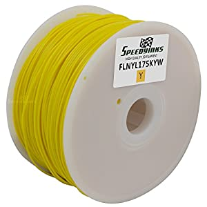 Speedy Inks - 1.75mm 1kg Nylon Yellow Filament for 3D Printers