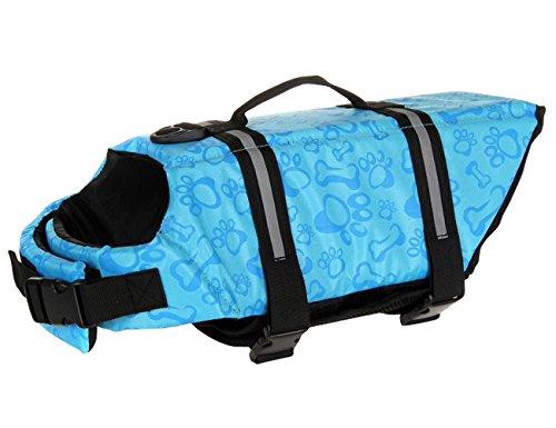 - Dog Life Jacket Vest,Float Coat for Dogs,Quick Release Easy-Fit Adjustable Dog Lifejackets,Dog Safety Life Coat,Reflective Vest Pet Life Preserver