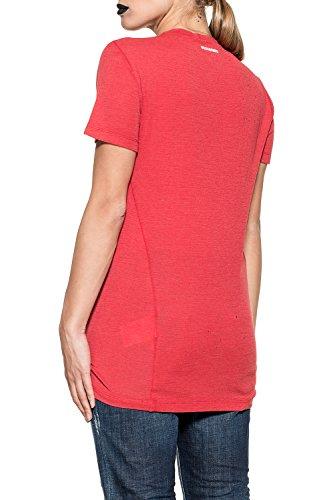 Coton S72gc0999s22620307 Femme Dsquared2 shirt T Rouge watq5qP