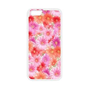 iPhone6 Plus 5.5 inch Phone Cases White Vintage Floral Pattern FSG538411
