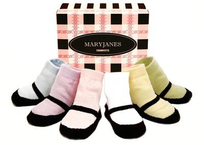 - Trumpette Mary Jane Pastel Infant Socks (0-12 Months)