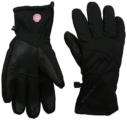 Seirus Innovation Women's Windstopper Cyclone Gloves, Black, Small