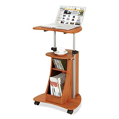 Techni Mobili RTA-B002 Rolling Laptop Cart with Storage