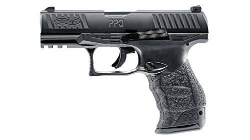 """T4E NEW Walther PPQ M2 (GEN2) the """"MOST REALISTIC"""".43cal CO2 Semi Auto Blow Back Paintball Pistol BLK Review"""