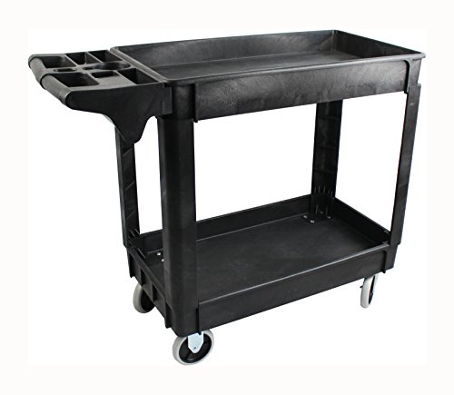 - MaxWorks 80855 500-Pound Service Cart With Two Trays (40
