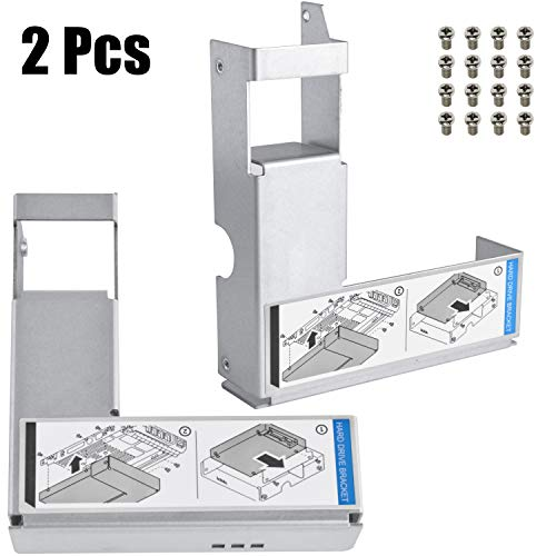 """3.5"""" to 2.5"""" HDD Adapter 9W8C4 Y004G SSD Bracket for Dell Poweredge Series 11/12/13/14 Generation Server F238F KG1CH G302D X968D F9541 Hard Drive Tray Caddy"""