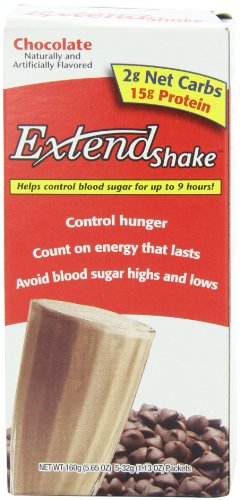 ExtendShake, chocolat, Portions 5-Count, 5,65 oz