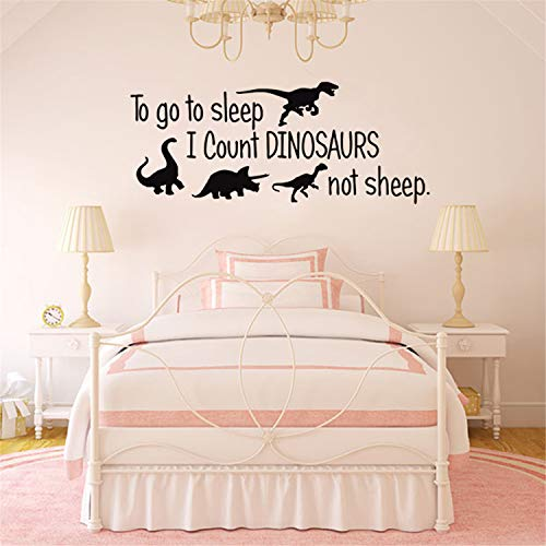 COUNTING SHEEP NURSERY VINYL WALL DECAL LETTERING KIDS BEDROOM DECOR SIGN