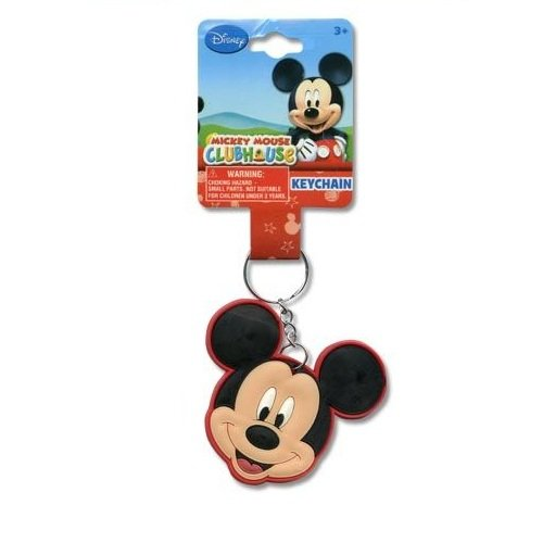 Amazon.com : Disney Mickey Mouse Laser Cut Keychain- Smile ...