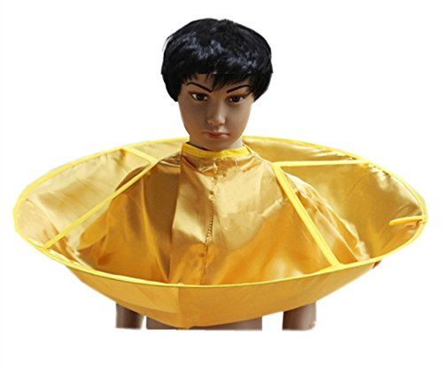 VERNASSA Children Hair Cutting Cloak Umbrella C...