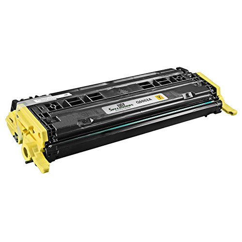 Speedy Inks - Remanufactured Replacement HP 124A Q6002A Yellow Laser Toner Cartridges For use in HP Color LaserJet CM1015mfp, Color LaserJet CM1017mfp, Color LaserJet 1600, Color LaserJet 2600n