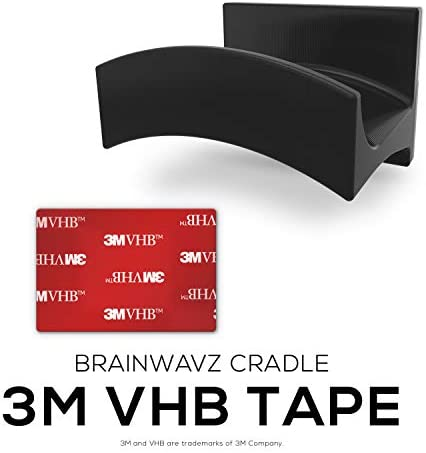 Brainwavz Cradle Large – 2PK – Headphone Hanger, Universal Stand for Sennheiser, Sony, Bose, Beats, AKG, Audio-Technica, Gaming Controller, Cables, Gamepad & Other Gaming Accessories 410Wq9NH1cL
