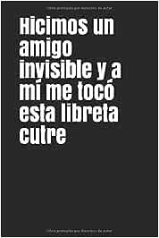 Hicimos un amigo invisible y a mí me tocó esta libreta cutre: Regalo gracioso para amigo invisible,si por ese dinero no se te ocurre nada que merezca ... menos hazle reír con este chiste,muy útil!