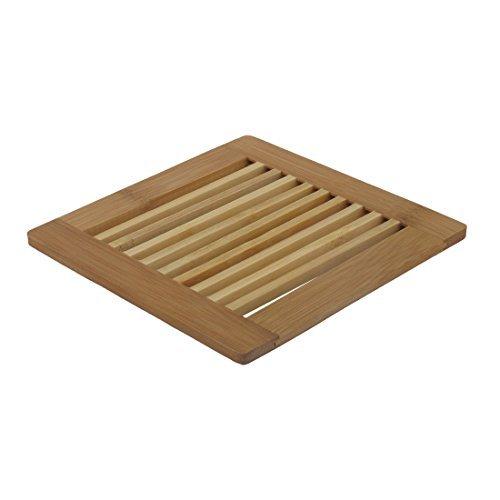 eDealMax creux de maison en bois Out Design Heat Coupe Mat Pad résistant Holder Brown