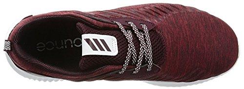adidas alphabounce rc m - Zapatillas de deporte para Hombre, Rojo - (CHMRMB/GRANAT/FTWBLA) 53 1/3