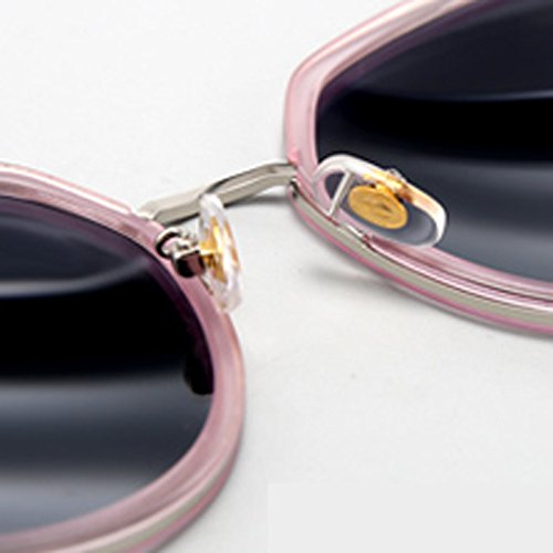 LIUXUEPING Polarized Sunglasses Cat Fashion Purple Color Pink New Eye Sunglasses Lady qrtSw4q6