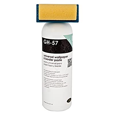 Golden Harvest 207805 GH-57 20 oz. Universal Wallpaper and Border Adhesive with Applicator